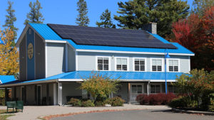 Solar panels at Killarney Lodge