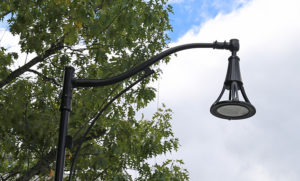 Started to switch city-owned downtown street lighting to LED